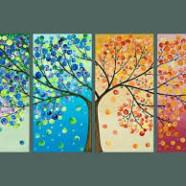 Акриловые краски для древесины