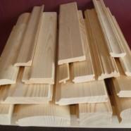 Как рассчитать деревянный погонаж