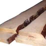 Необрезная доска из лиственницы