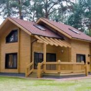 Стоит ли строить дом из клееного бруса?